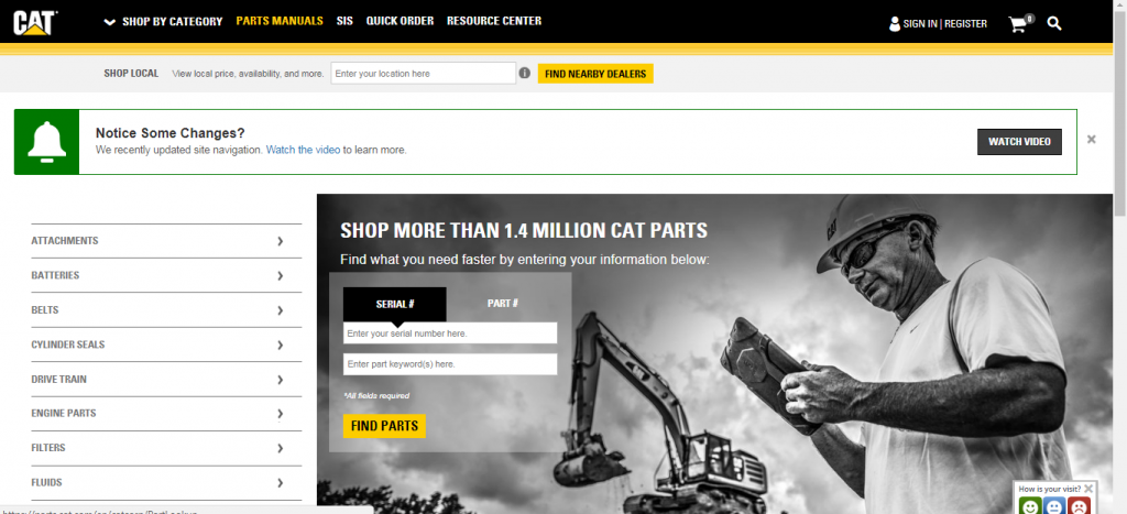 How to find a Cat Part Number - UrParts Blog